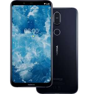 Nokia 8.1 4GB / 64GB Global Version (6,18 Zoll, 2280x1080, Android 10, Quick Charge)