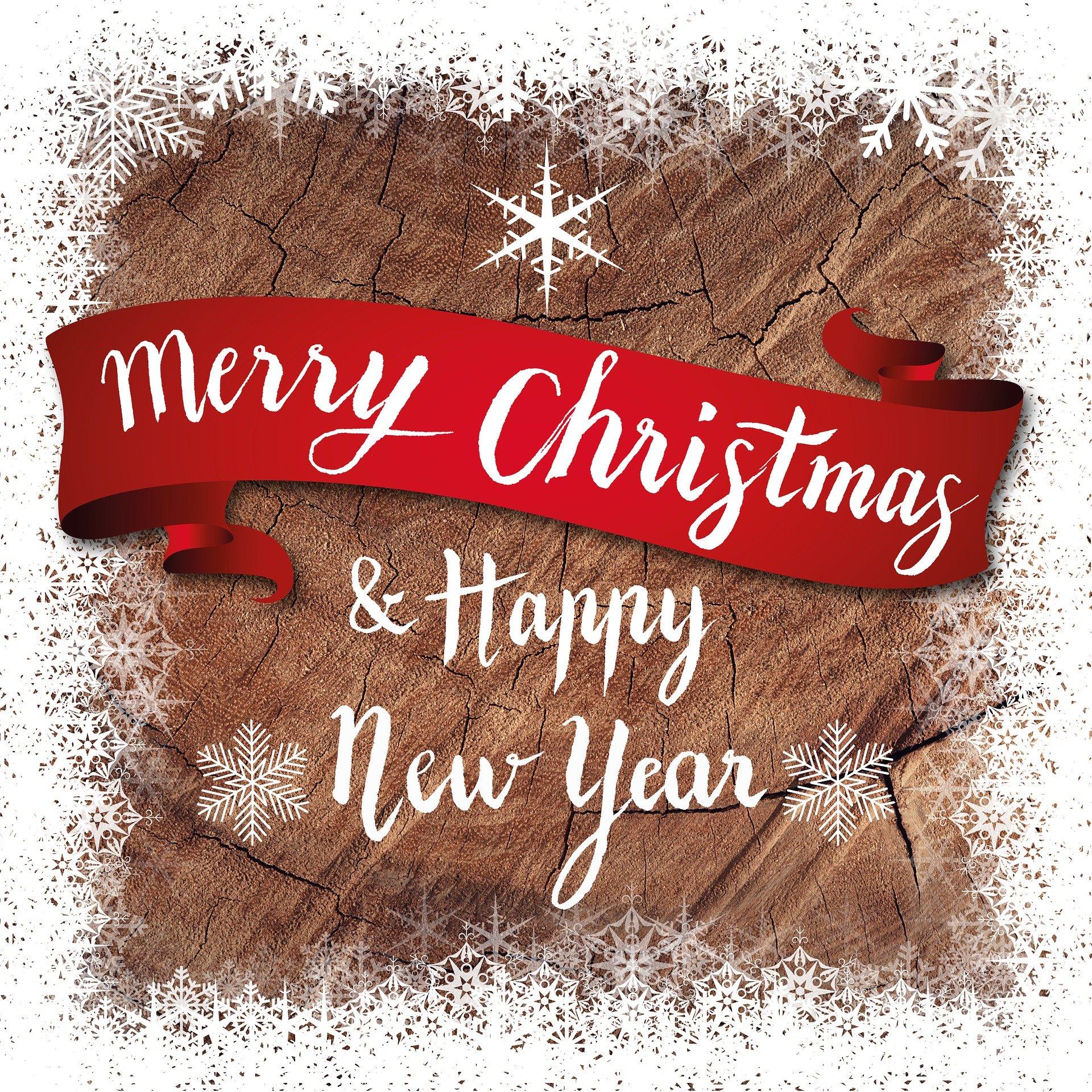 Wünsche jemanden Frohe Weihnachten! Kostet nix!