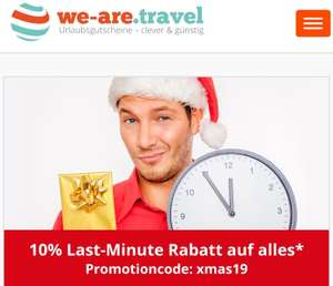 we-are.travel 10% Rabatt