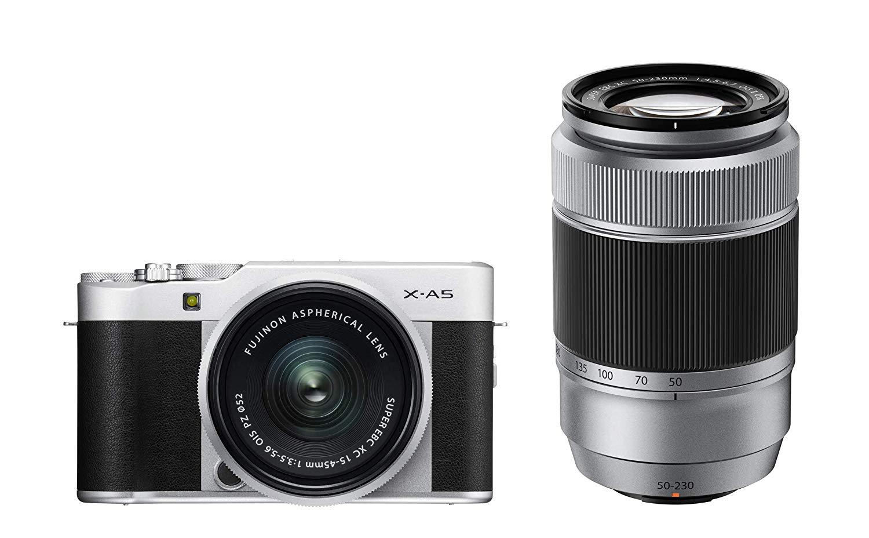 Fujifilm X-A5 + XC 15-45 + XC 50-230