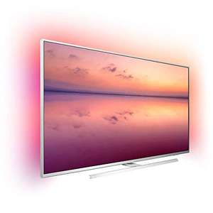 Philips Ambilight 50PUS6814/12 50 Zoll Smart TV mit Alexa-Integration (4K UHD, HDR 10+, Pixel Precise Ultra HD, Dolby Vision, Dolby Atmos)