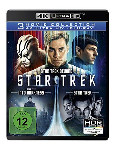 Star Trek - 3 Movie Collection (Star Trek + Star Trek - Into Darkness + Star Trek Beyond) (4K Ultra HD) [Blu-ray]
