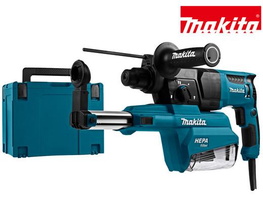 Makita HR2650 Bohrhammer + Absaugvorrichtung inkl. Koffer