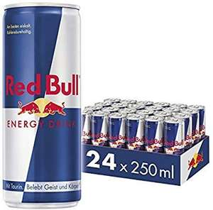 Red Bull Energy Drink: 24x 250ml (88c / Dose) oder 12x 473ml