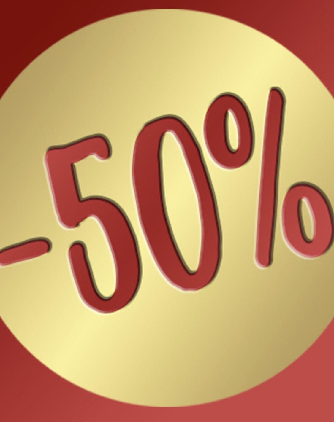 [Horvathslos Onlineshop] -50% auf das gesamte Sortiment