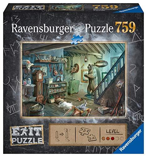 Ravensburger 15029 - Exit 8: Gruselkeller Puzzle