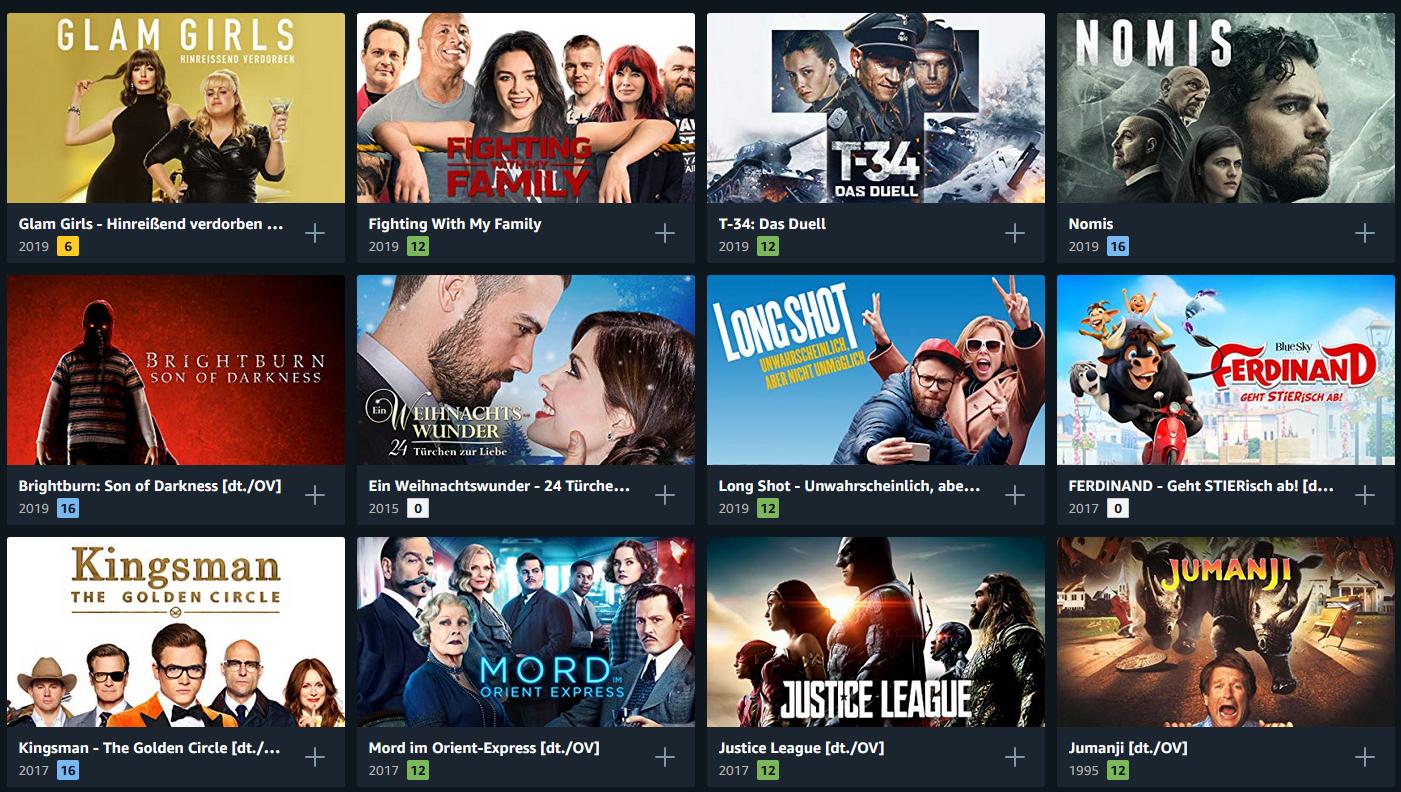 Prime Deals: über 300 Filme für je 99 Cent ausleihen