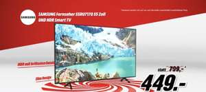 samsung 55ru7170 55 Media Markt frühshoppen