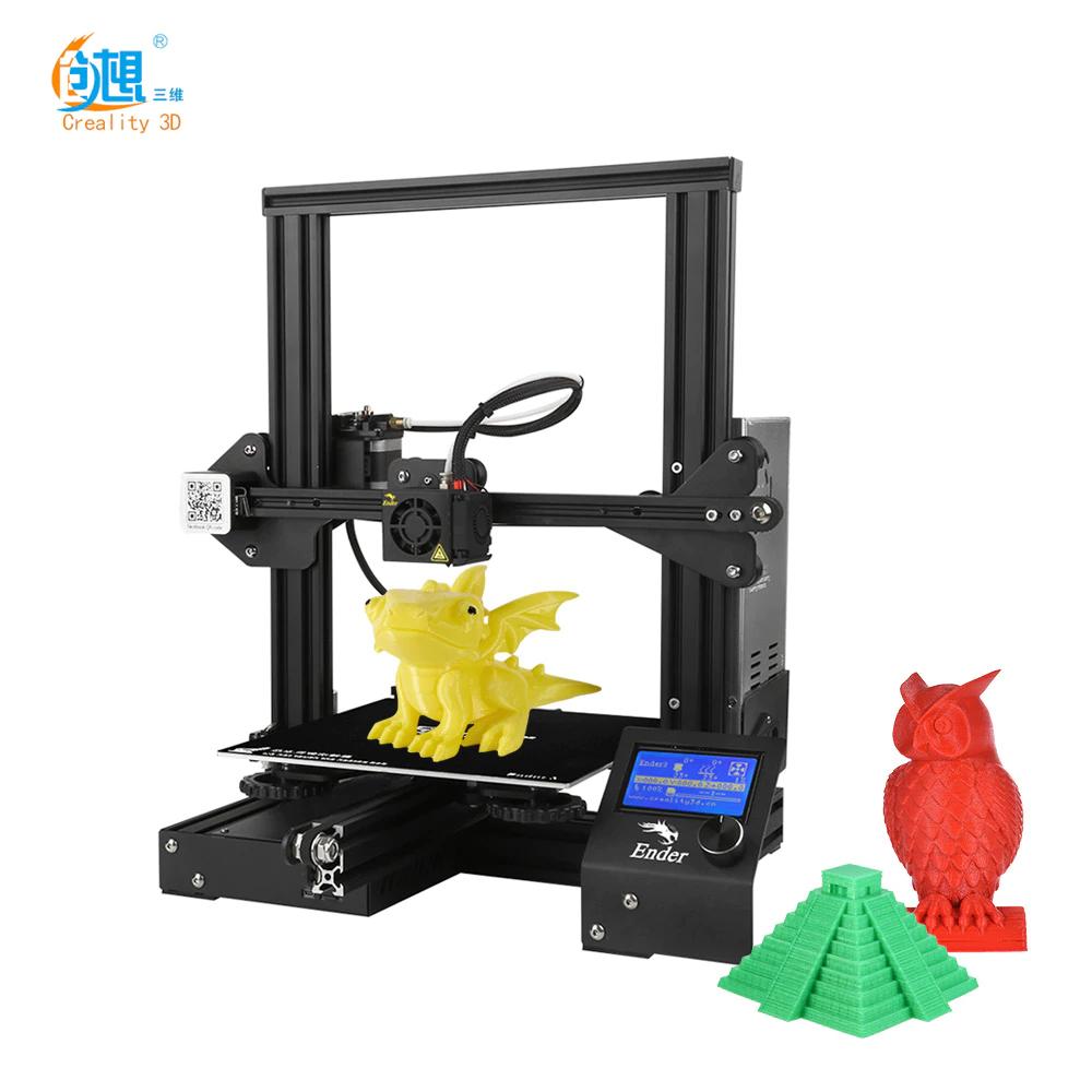 Creality 3D drucker Neue Ender 3/Ender-3 PRO DIY 3D Drucker Ender-3 Selbst-montieren 220*220*250mm Druck Größe mit Lebenslauf Druck