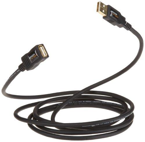 10x AmazonBasics USB 2.0-Verlängerungskabel 2 m