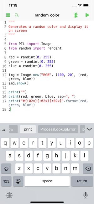 Pyto - Python 3.8 IDE