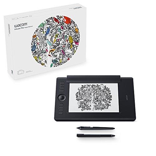 Wacom PTH-660P-N Intuos Pro Paper M Grafik-Tablet und Stift schwarz