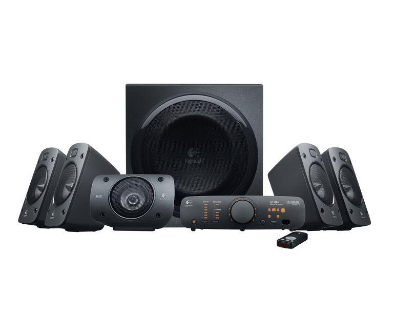 Logitech Z906, THX-Lautsprechersystem