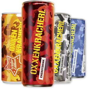 24 Dosen Oxxenkracherl Energy Drink