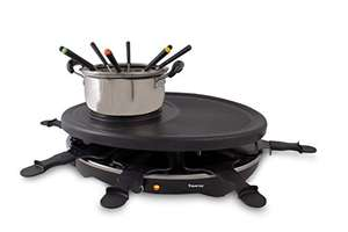 Raclette/Fondue Set für 8 Personen