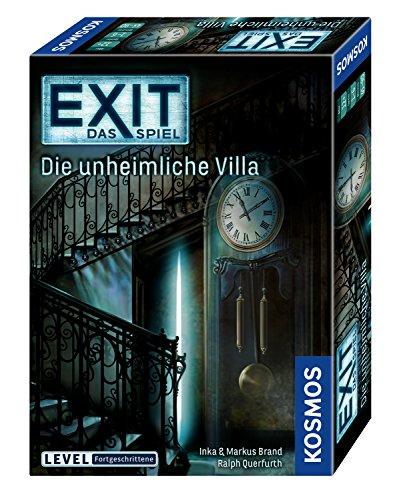 EXIT - Das Spiel, Die unheimliche Villa, Level: Fortgeschrittene