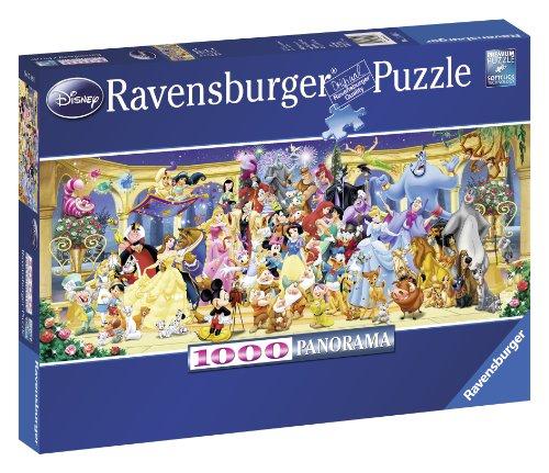 Ravensburger Puzzle - Disney Gruppenfoto, 1000 Teile