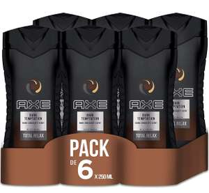 AXE Duschgel Dark Temptation 6er Pack (Plus Produkt)