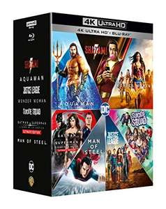 DC Extended Universe - Collection [4k Ultra HD + Blu-ray]