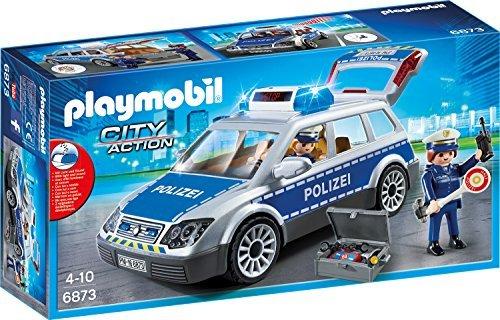 [Libro] *Sammeldeal* versch. Playmobilsets zu Knaller-Bestpreisen z.B. Playmobil City Action 6873 - Polizei-Einsatzwagen um nur 10€