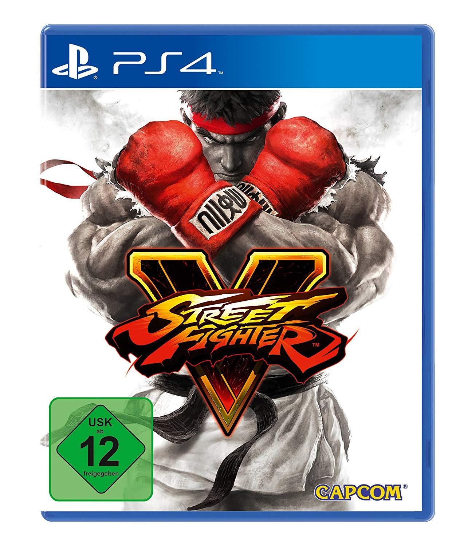Street Fighter V - [PlayStation 4] (Arcade Edition für 16,65 €)