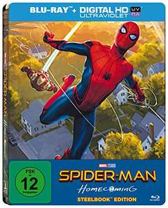 Spider-Man Homecoming Steelbook (PopArt) [Blu-ray] [Limited Edition] Amazon exklusiv