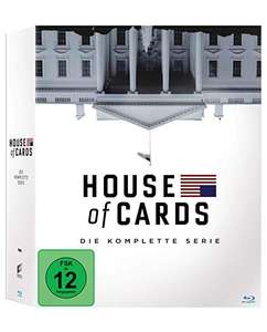 House of Cards - Die komplette Serie (23 Blu-rays)