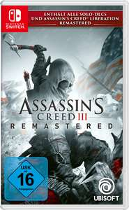 Assassin's Creed 3 - Remastered (Switch)