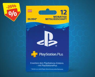 @Hofer Playstation Plus Mitgliedschaft 12 Monate