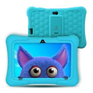 Kids Tablet Android 9.0, Dragon Touch Y88X Pro Tablet mit blauer Schutzhülle