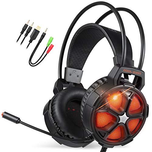 EasySMX LED Gaming Headset