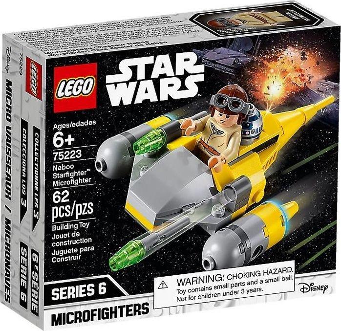 *FROHES NEUES JAHR 2020* [Libro] LEGO Star Wars 75223 - Naboo Starfighter, Microfighters um nur 1€
