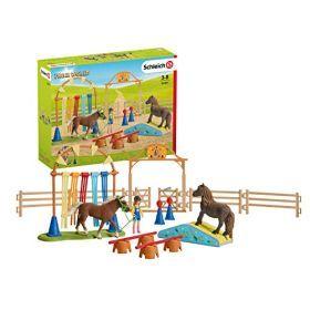 Schleich Farm World - Pony Agility Training