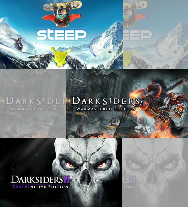 Steep, Darksiders, Darksiders 2