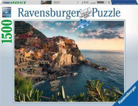 Ravensburger Puzzle - Vue sur Les Cinque Terre Adulte (1500 Teile)