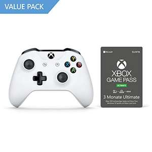 Xbox Wireless Controller + Xbox Game Pass (3 Monate)