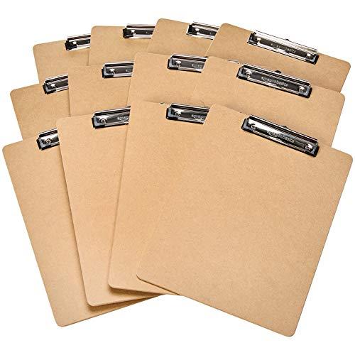 AmazonBasics - Hartplatten-Klemmbrett - 12er-Packung 12,61 Euro; 30er 25,20 Euro