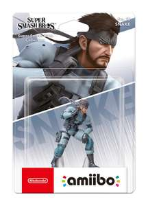 Nintendo amiibo Figur Super Smash Bros. Collection Snake (Switch/WiiU/3DS)