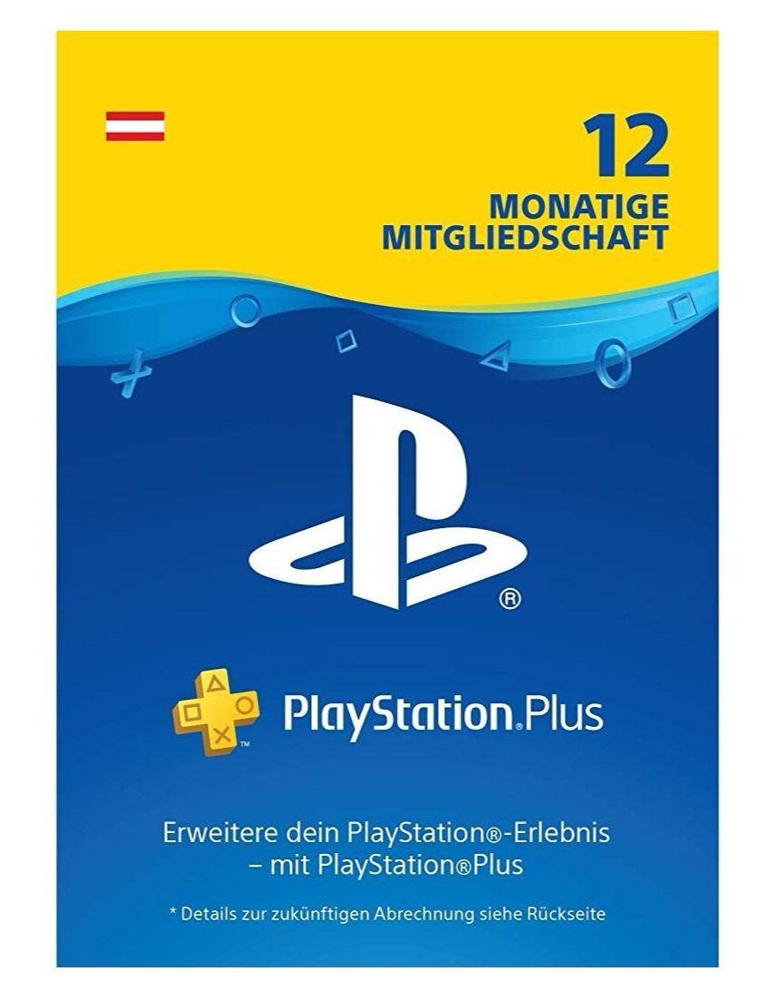 Amazon Deal - PlayStation Plus Mitgliedschaft | 12 Monate