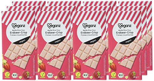 12x 80g Veganz Bio Schokoladen - vier verschiedene Sorten zur Auswahl