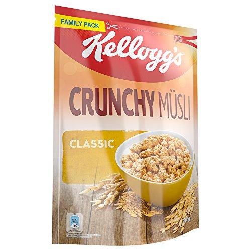 5x 800g Kellogg's Crunchy Müsli Classic