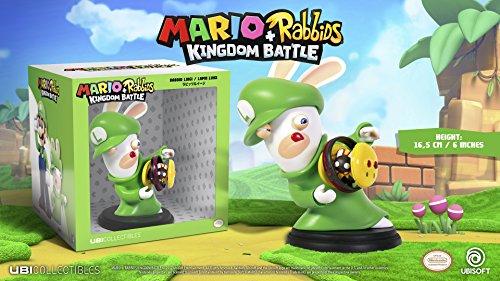 Mario & Rabbids Kingdom Battle - Figur Rabbid Luigi (16,5 cm) für 8,99 EUR #DE