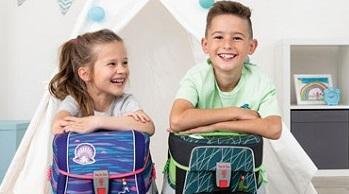 Preis-Leistungshit: Schulranzen Set 4-tlg. für Schulanfänger