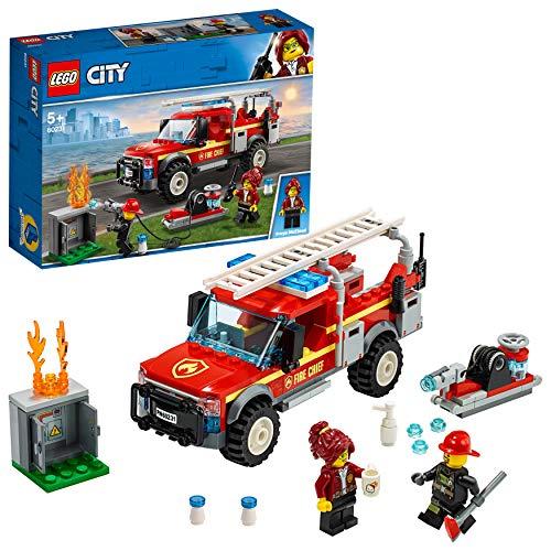 LEGO City Feuerwehr - Feuerwehr-Einsatzleitung