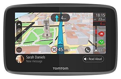 """TomTom GO 5200 Navigationsgerät (5"""", Echtzeittraffic via integrierter SIM Card, Weltkarte, lebenslange kostenlose Karten- & Traffic-Updates)"""