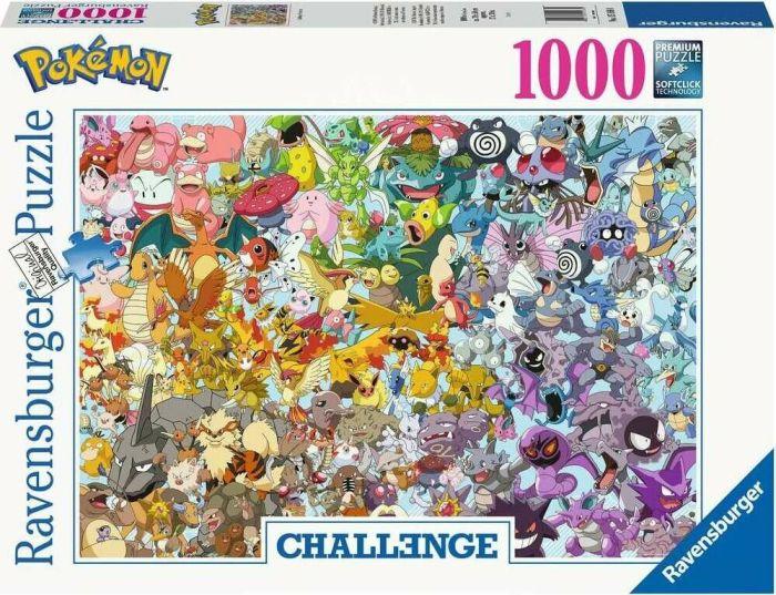 Ravensburger Puzzle Pokémon (1000 Teile, 50x70cm)