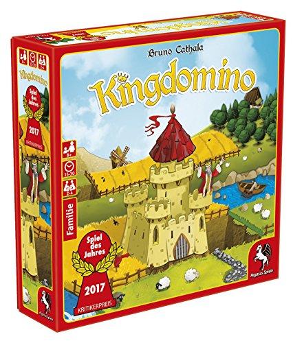 Pegasus Spiele - Kingdomino Strategiespiel (Prime)