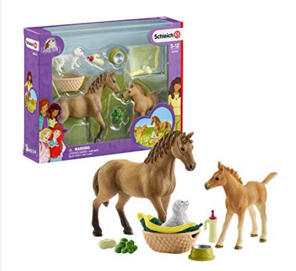 Amazon Deal - Schleich 42432 - Horse Club Sarahs Tierbaby-Pflege (Prime)