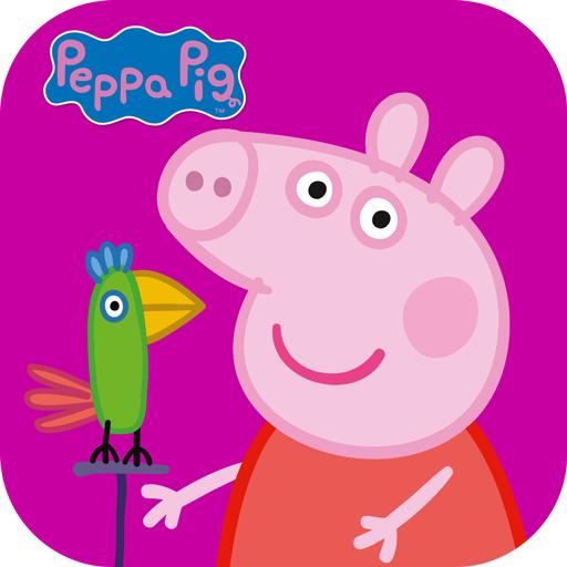 Peppa Pig: Polly Papagei und Paintbox kostenlos für Android und iOS