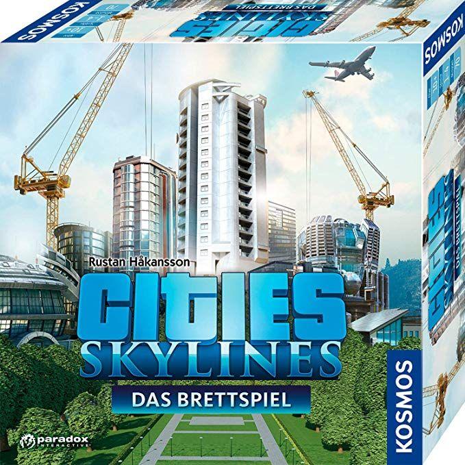 Cities: Skylines, Das Brettspiel zum PC-Spiel (Prime)